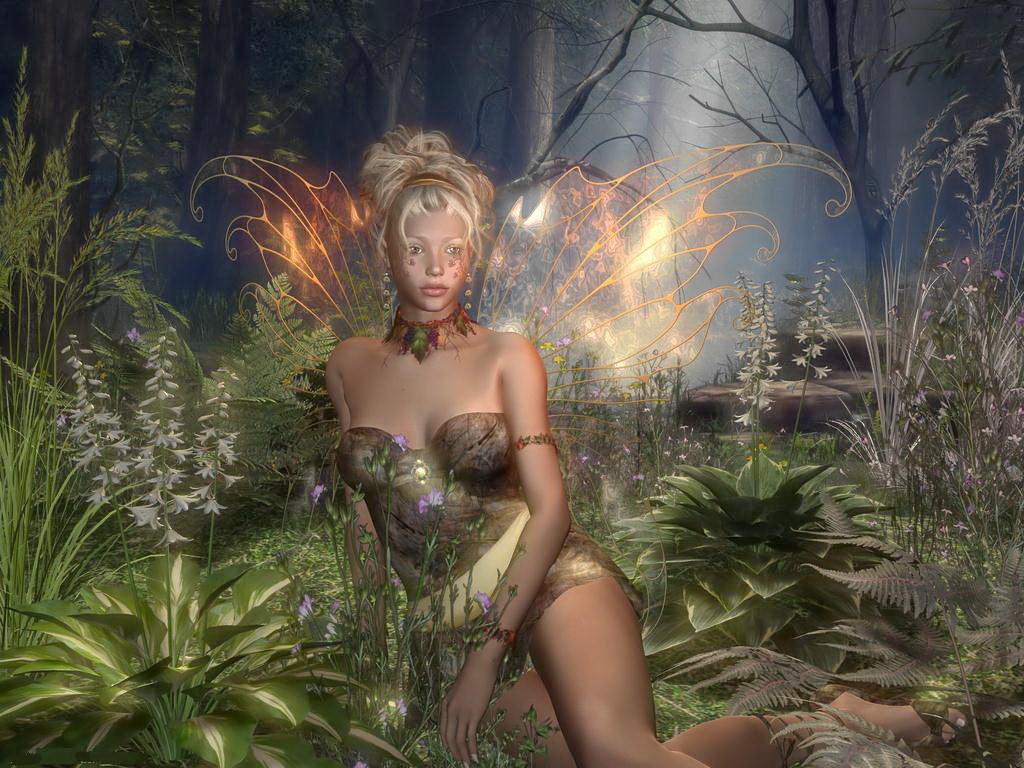 Секси лесная фея